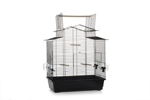 Vogelkooi Big Iza 3 open zwart