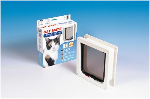Catmate Kattendeur 234 Kattenluik Wit