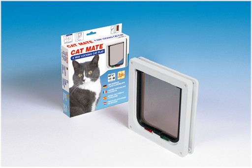 Catmate Kattendeur 309 Kattenluik Wit