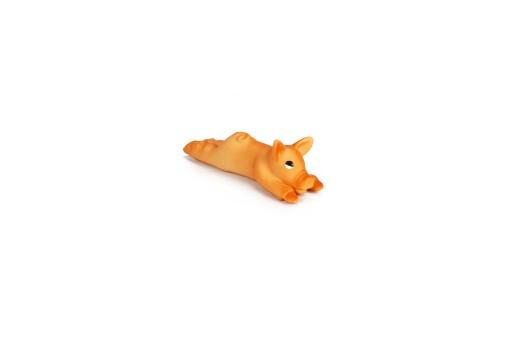 Latex biggetje mini hondenspeelgoed