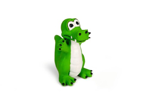 Latex Speelgoed Krokodil voor de hond Per stuk