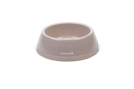 Beeztees Plastic Eetbak Hond Beige 0,6 Liter