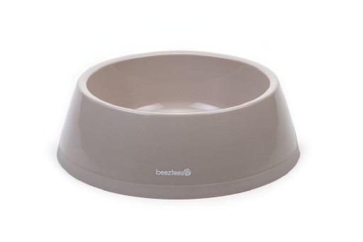 Beeztees Plastic Eetbak Hond Beige 2,25 Liter