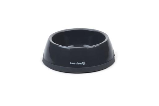 Beeztees Plastic Eetbak Hond Antraciet 0,6 Liter