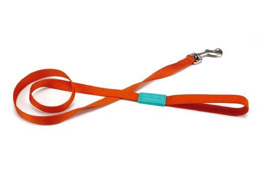 Beeztees Uni - Hondenriem - Oranje - 120 cm x 25 mm