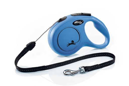 Flexi Classic Cord 8 meter Small Blauw