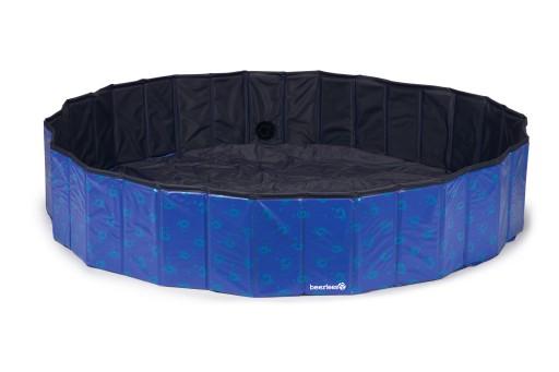 Beeztees Doggy Dip - Hondenzwembad - Blauw - 160x160x30 cm