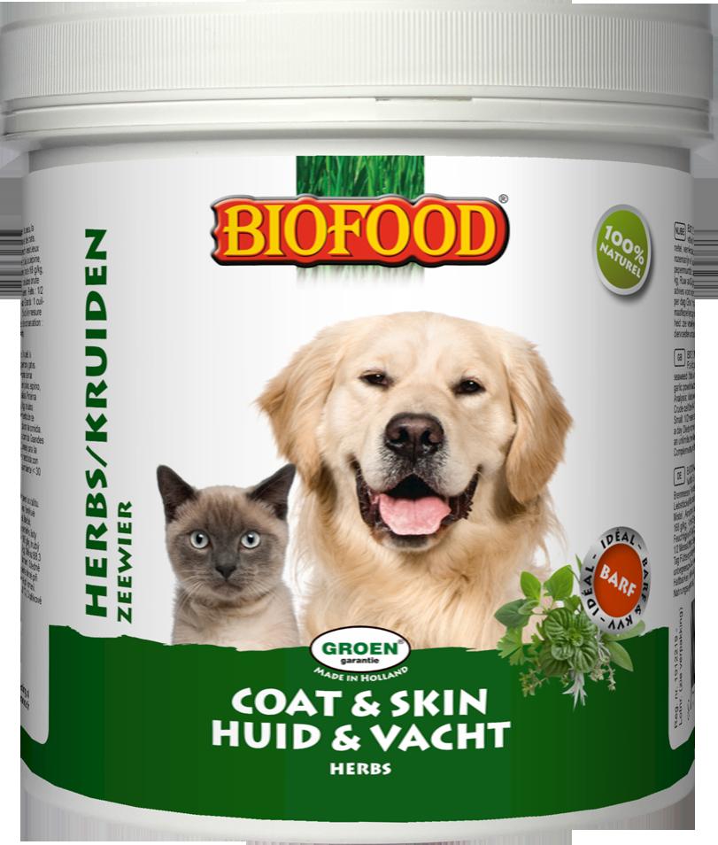 Biofood Natuurkruiden voor hond en kat 450 gram