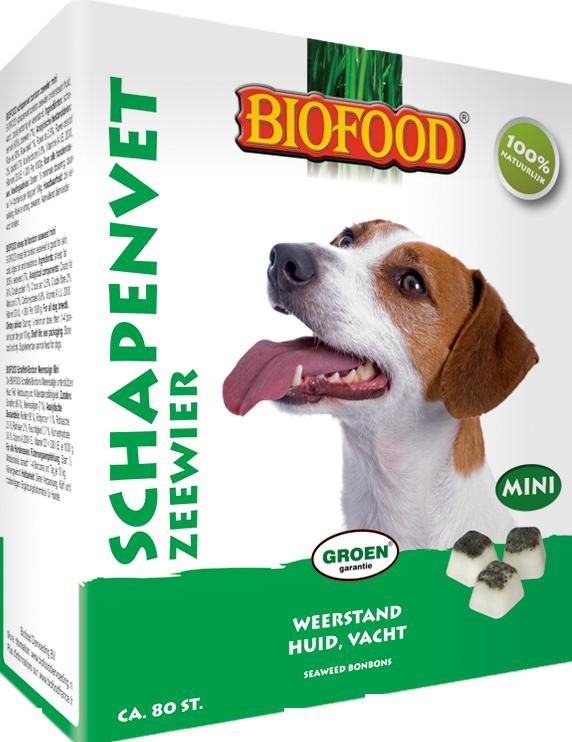 Biofood Schapenvet Mini Bonbons met zeewier Per verpakking