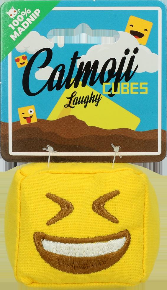 Emoji Cat Cube Laughy met MadNip