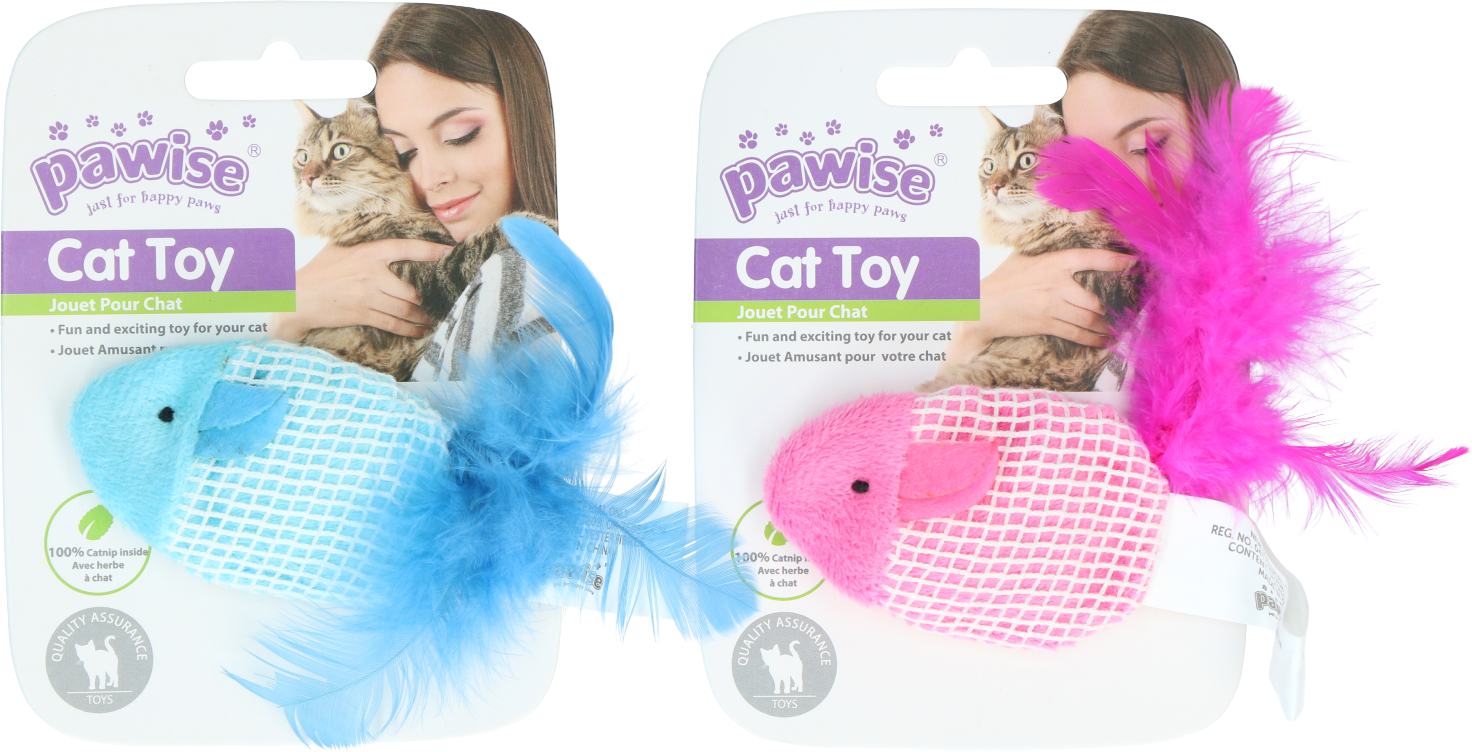 Pawise Catnip mouse